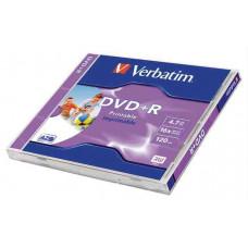 DVD-R Verbatim 4,7Gb 16x Nyomtatható Matt