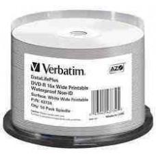 "DVD-R Verbatim 4,7Gb 16x 50db/henger ""no-ID""16B50"