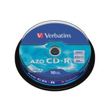 "CDR Verbatim 80""  52x 10db/henger"