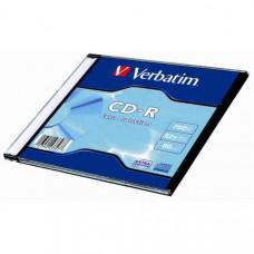 "CDR Verbatim  80"" 52x Slim CDV7052V1DL"