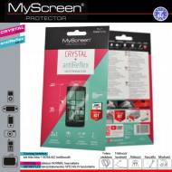 """MYSCREEN Képernyővédő fólia törlőkendővel (2 féle típus) CRYSTAL áttetsző /ANTIREFLEX tükröződésmentes, Alcatel Idol 3 4.7"""" (OT-6039) G55734"""
