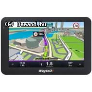 "Wayteq X995 BT HD GPS 5"" 8Gb +Sygic 3D Európa"