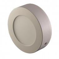 OPTONICA LED Panel, 7W, falra szerelhető, kerek,  semleges fehér fény, 630 Lm, 4500K