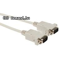 Monitor VGA Monitor kábel 1,8m HQ, M/M, szürke  VLCP59001I20 König