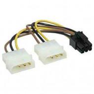 Tápkábel PCIE VGA-hoz 6pin CC-PSU-6