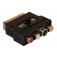 Fordító SCART In-Out AudioVideoS-Video SCART 56G