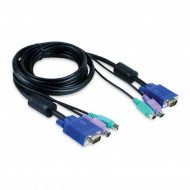 CPU Switch KVM 3m HD15p-15p+2xPS2