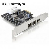 Firewire 1394a PCIE Delock Kártya 2p+1p 1394A/B