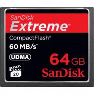 SANDISK - NO GEMA CF CARD 64GB EXTREME