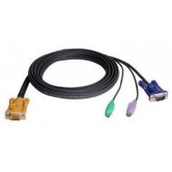 Console kábel ACS12xx-hez PS/2 2m 2L-5202P