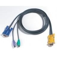 Console kábel ACS12xx-hez PS/2 3m 2L-5203P