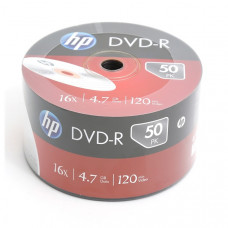 HP DVD-R 4,7Gb  50db/csomag 16x