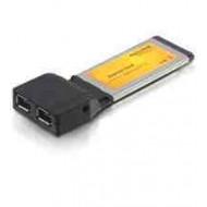 DELOCK CONVERTER Express Card - FireWire Ax2 (61387)