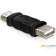 Delock DL65012 Gender Changer USB-A female - USB-A female adapter
