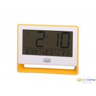 Trevi SLD 3018 ébresztőóra hőmérővel sárga /0301805/