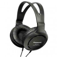 PANASONIC RP-HT161E-K Fejhallgató,2.0,3.5mm,Kábel:3m,10-27000Hz