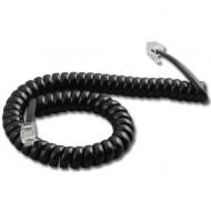 DELIGHT Telefonkézibeszélo kábel Black 1.8m