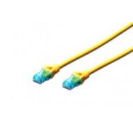 Digitus Premium CAT 5e UTP patch kábel, hossza: 1, sárga DK-1512-010/Y