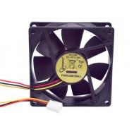 Gembird ventilátor ATX PC házhoz, 80x80mm, 3-pin, golyóscsapágy FANCASE/BALL