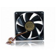 Gembird ventilátor ATX PC házhoz, 90x90mm, 3-pin, golyóscsapágy FANCASE2/BALL