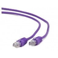 Gembird UTP kat.5e RJ45 patch kábel, 0.25m, ibolya PP12-0.25M/V
