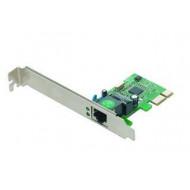 Gembird 1-GIGABIT PCI-Express Fast Ethernet Card, Realtek chipset NIC-GX1
