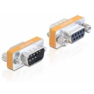 Delock Adapter Null Modem Sub-D 9 pin apa / anya 65255