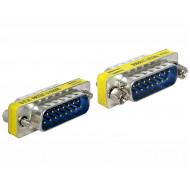 Delock Sub-D 15 pin apa  apa nemváltó adapter 65479