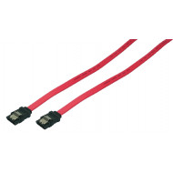 LogiLink S-ATA Cable,2x male,red,0,30M CS0009