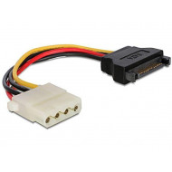 Gembird SATA (male) to Molex (female) power cable, 15cm CC-SATA-PS-M