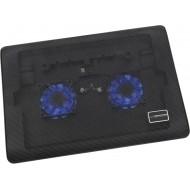 ESPERANZA TIVANO Notebook hűtőpad 2 ventilátorral EA144