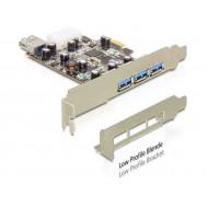 Multi I/O PCIE 3x külső 1x belső USB3 Delock 89281