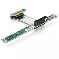 Forditó Delock emelő kártya PCIE x8 7cm-es 89193