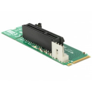 Delock 62584 M.2 NGFF kulcs M dugó  4x PCI Express nyílás adapter