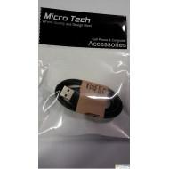 Mikro Tech USB-Micro USB 1m kábel