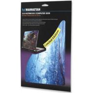 Manhattan 3-D notebook skin matrica 15,4'' kék víz 422789