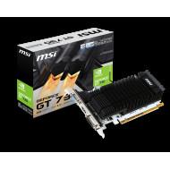 MSI GeForce GT 730, 2GB DDR3 (64 Bit), HDMI, DVI, D-Sub N730K-2GD3H/LP V809-001R