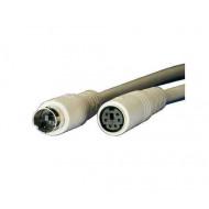 ROLINE PS/2 hosszabbító kábel miniDin6M/F 3.0 m