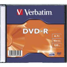 VERBATIM DVD-R 4.7Gb normál tokban
