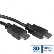 STANDARD Kábel HDMI Ethernet M/M 1m