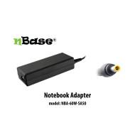 notebook univerzális töltő 60W nBase NBA-60W-SA50 (Samsung)