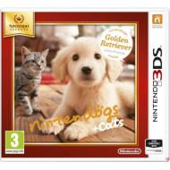 Nintendogs+Cats-Golden Retr&amp,new Friends Select Nintendo 3DS játékszoftver - NI3S501