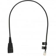 GN NETCOM CABLE W/ QD TO RJ10 PLUG        8800-00-01