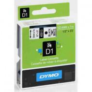 DYMO címke LM D1 alap 12 mm Black/White
