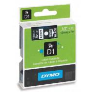 DYMO címke LM D1 alap 12 mm White/ Black