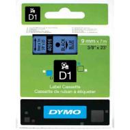 DYMO címke LM D1 alap 9 mm Black/kék