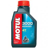 MOTUL 3000 4T 20W50 1L