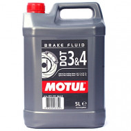 MOTUL DOT 3 & DOT 4 Brake Fluid 5L