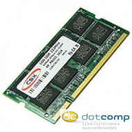 CSX ALPHA Notebook 1GB DDR (333Mhz, 64x8) SODIMM memória RAMCSXASO3336481GB