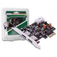 DIGITUS PCI-Exp. 2p USB3.0 kártya